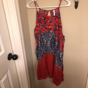 Size large red, white & blue dress!